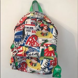 RARE MOSCHINO Couture Jeremy Scott backpack